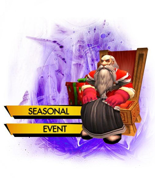 Feast of Winter Veil, Achievements, Seasonal Event carry