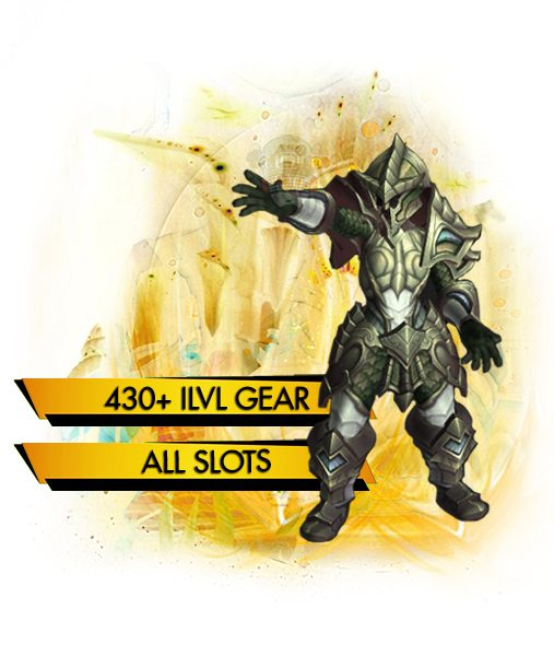 The eternal Palace Heroic Full Gear carry boost