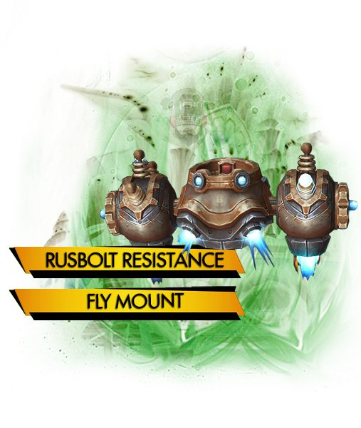 Rustbolt Resistor carry boost