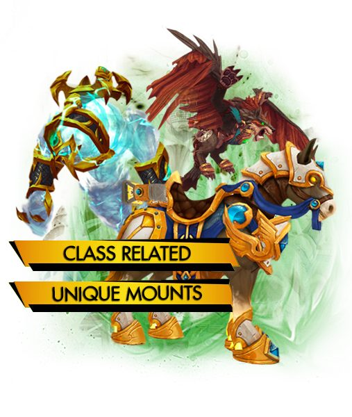 Class mounts carry boost