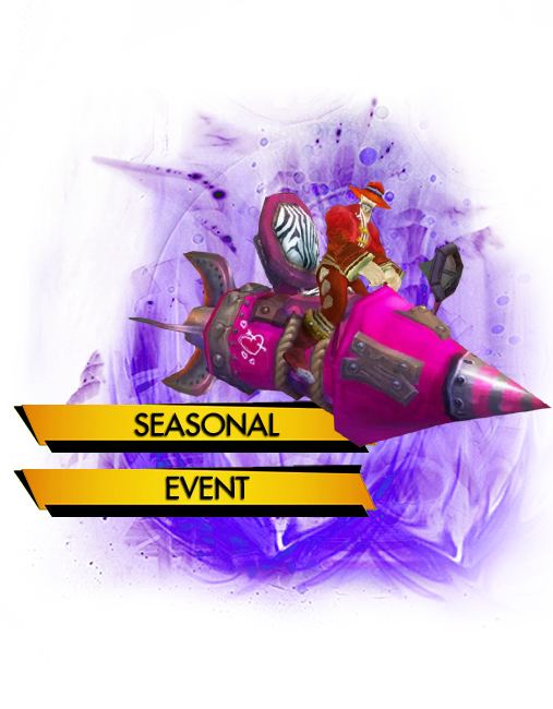 Love is in the air, Achievements, Seasonal Event carry